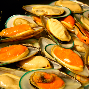 Kiwi Mussels In Half Shell(16-24 portions)