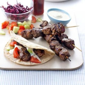 Seasoned Lamb Souvlaki Skewers (20 portions)