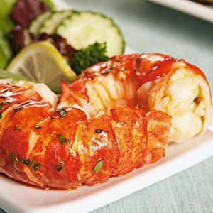 Caribbean Lobster Tail Meat (2-8 portions)