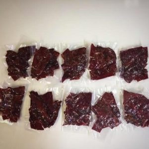 Original Seasoned Bison Jerky (D.V.M) (10 portions)